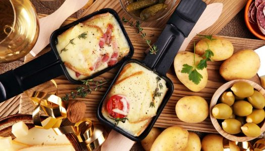 Receita da Suíça: Raclette