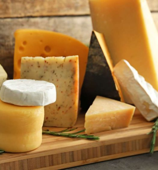 capa tipos de queijo