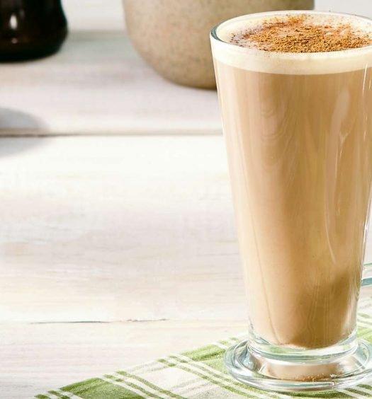 latte com caramelo e especiarias - capa
