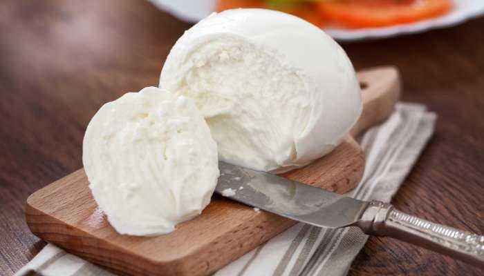queijos macios - mussarela de bufala