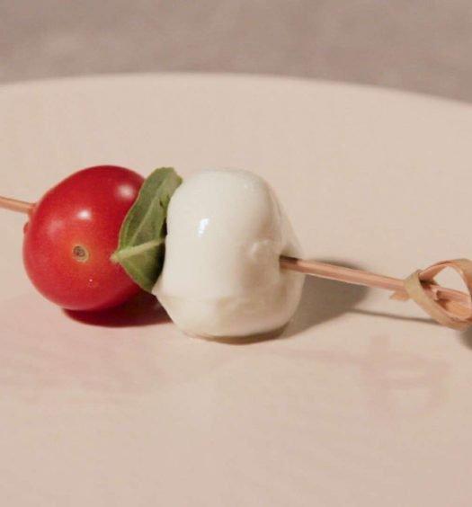 aperitivo de salada caprese - capa