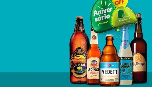 Dia 24/08/18 tem promoção de cervejas especiais no Pão! Use o app Pão de Açúcar Mais para comprar na loja e site