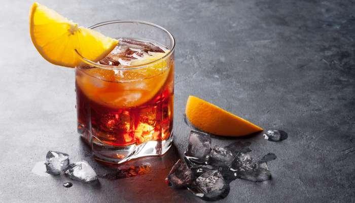 drink boulevardier - texto