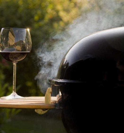 vinho e churrasco - capa