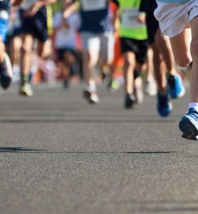 corrida de rua para crianças - capa