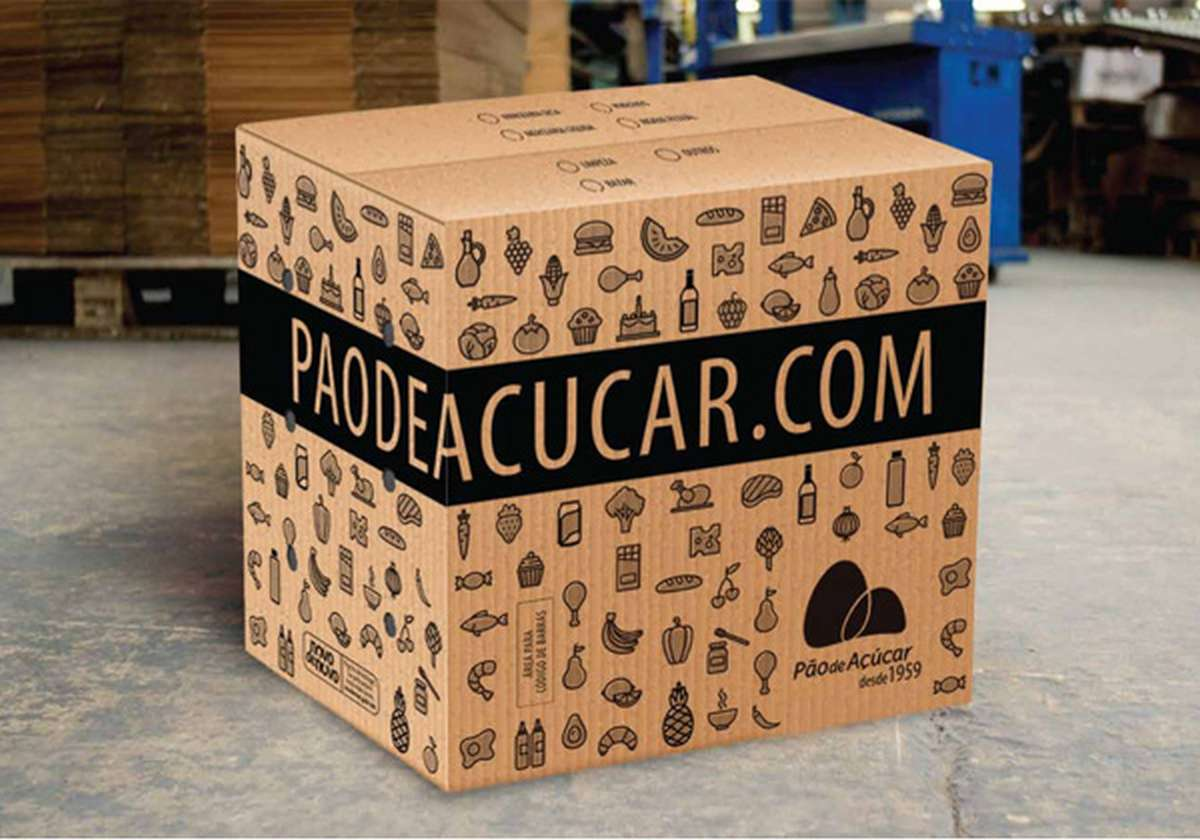 modalidade de entrega - caixa capa