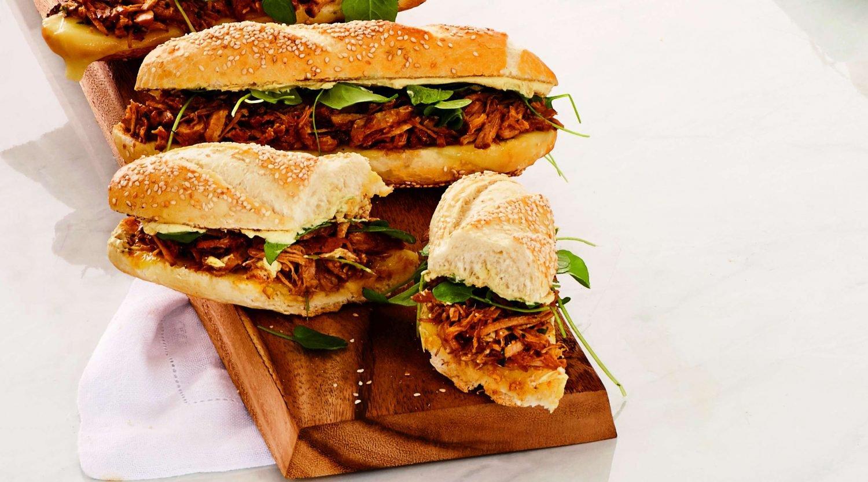sanduíche de pernil - capa