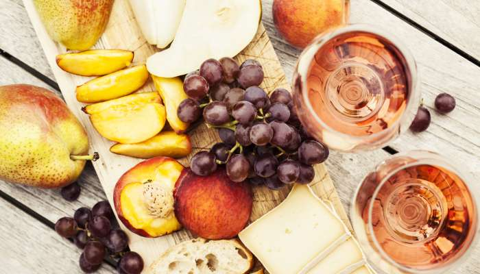 vinho rosé - harmonização