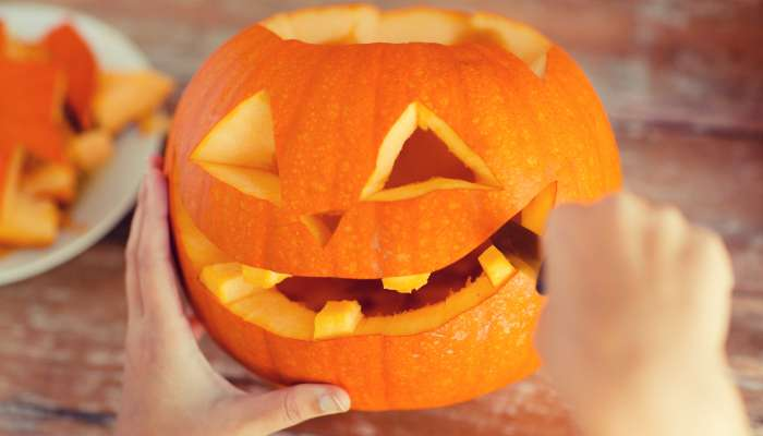 abóbora de halloween - carv