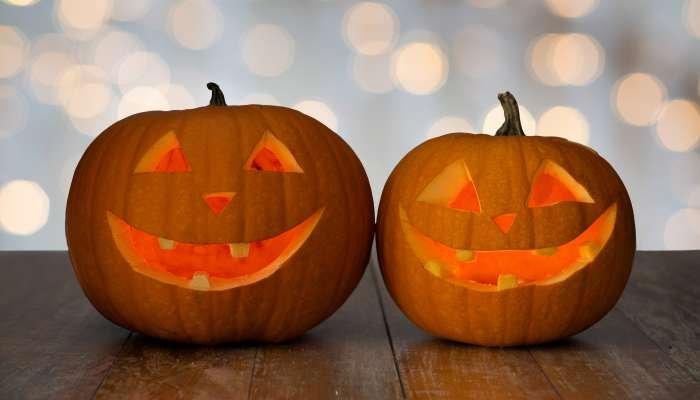 abóbora de halloween - pronto
