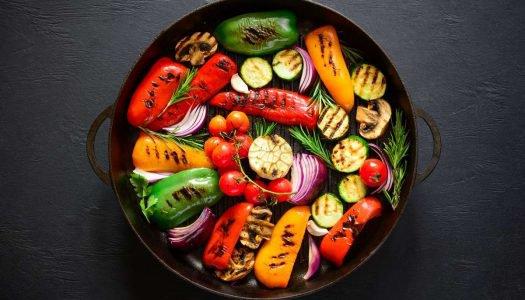churrasco vegetariano - capa