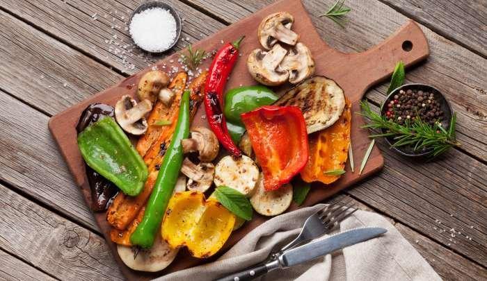 churrasco vegetariano - sabores