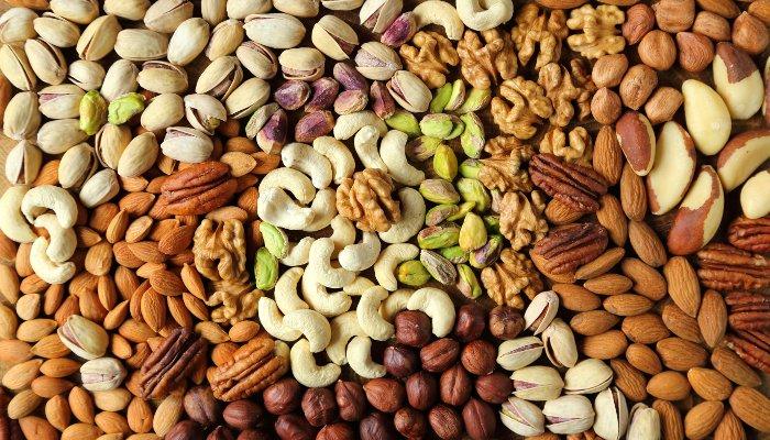 oleaginosas - proteína vegetal