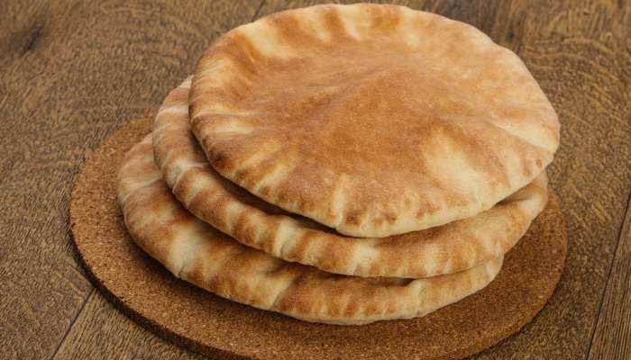 receitas veganas - pão pita