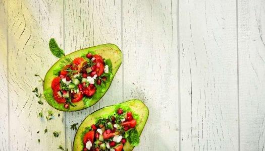 [Receita] Salada de Abacate