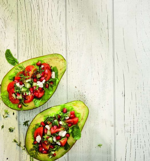 salada de abacate - capa