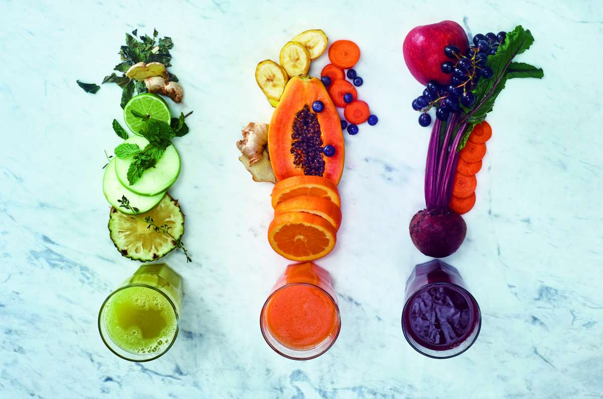 sucos coloridos - capa