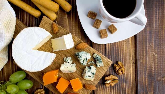 harmonização de café - queijos