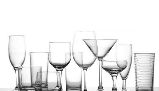 Quais são tipos de copos e taças para cada bebida?