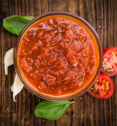 molho de tomate - capa