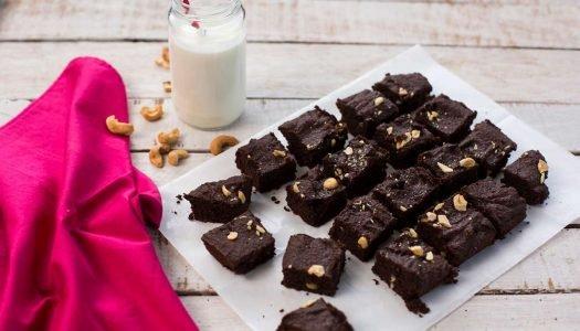 [Receitas] Brownie Funcional com Castanhas