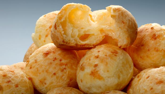 lanches rápidos carnaval - pão de queijo
