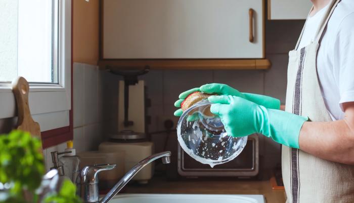 lavar a louça - mão