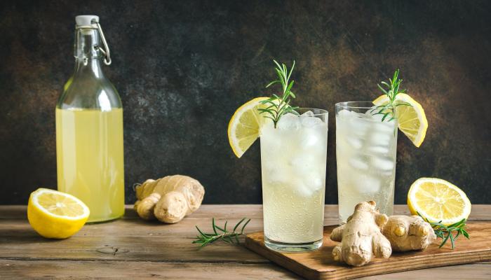 receitas de kombucha - limão