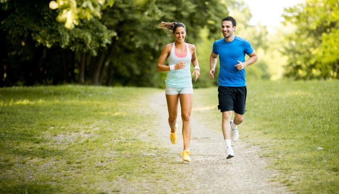 correr com companhia - namorados