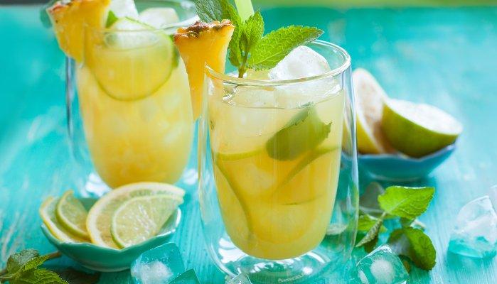 drinks com água tônica - cítrico