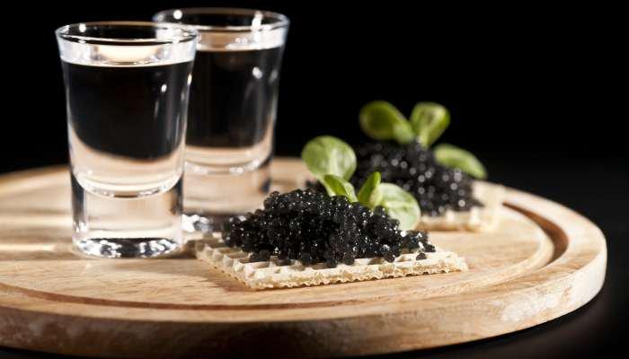 harmonização de comidas e bebidas - vodka