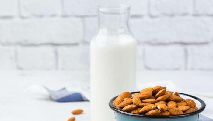 leites vegetais - amendoa