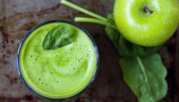 receitas com água de coco - suco verde