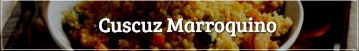 Botão Cuscuz Marroquino - almoço de dia das mães