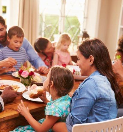 almoço de dia das mães - capa