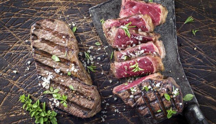 carne maturada a seco - preparo