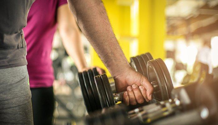 fortalecimento muscular - academia