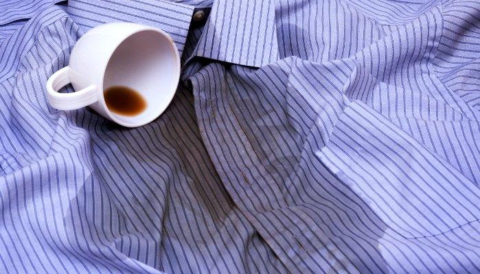 manchas de roupas - cafe