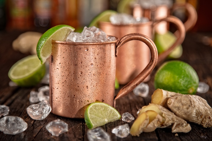 moscow mule - texto