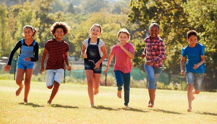 qualidade de vida crianças - exercício