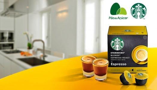 Os Cafés Starbucks chegaram no Pão!