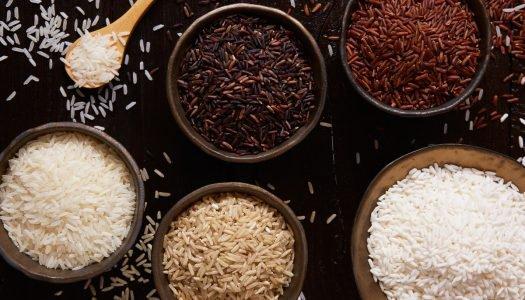 Conheça os diferentes tipos de arroz