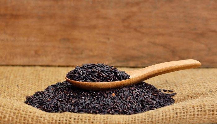 tipos de arroz - negro