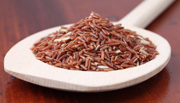 tipos de arroz - vermelho