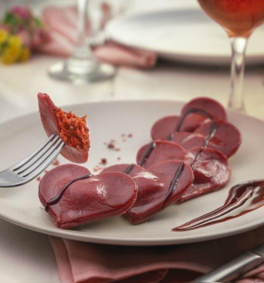 ravioli de tomate seco - capa