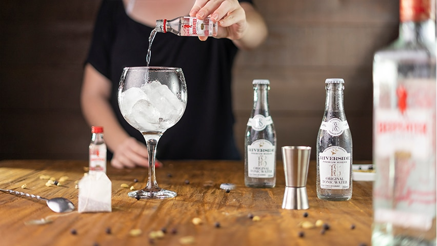 Passo 1 - gin tônica