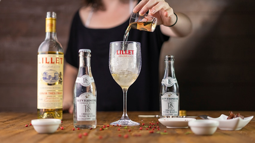 Passo 1 - lillet