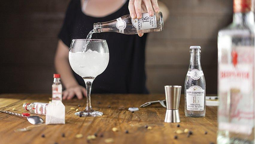 Passo 2 - gin tônica