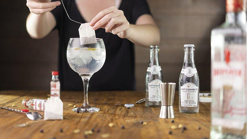 Passo 3 - gin tônica