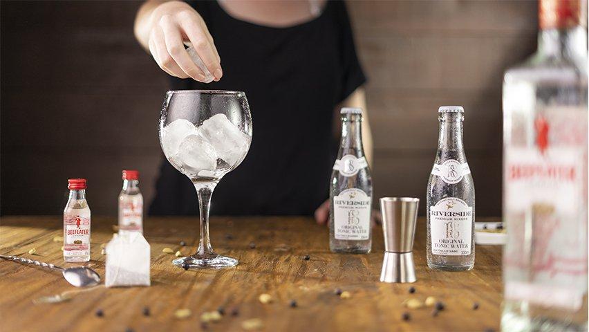 Passo 4 - gin tônica